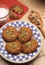 Десерт: овсяное печенье с фисташками