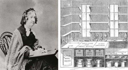 """Катарина Бичер (1800—1878) и ее проект """"модельной кухни"""", подсмотренный на камбузе парохода"""