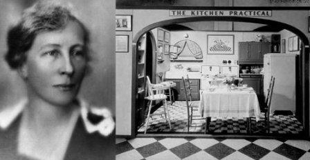 Лилиан Эйлер Молер, в замужестве Гилберт (1878 -1972) и ее вариант кухни