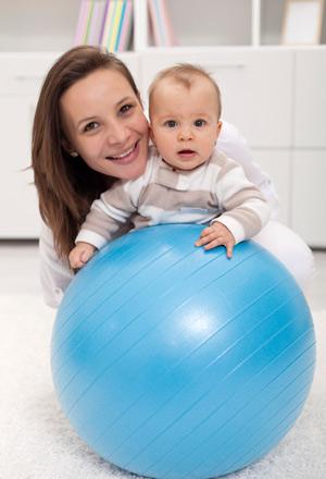 Комплекс упражнений для похудения после родов