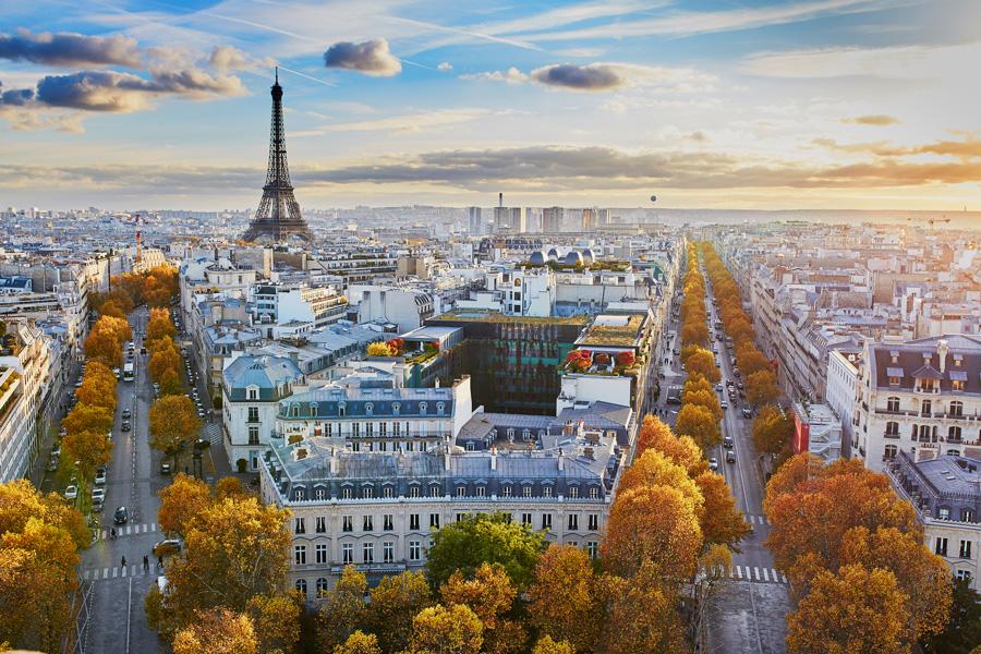 Туристические места Парижа