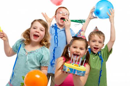 Как отпраздновать детские праздники