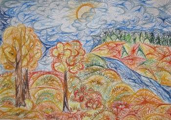 Картины рисую иглой
