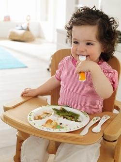 Правильные пищевые привычки нужно прививать с детства