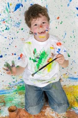 Дайте детям кисть и краски!