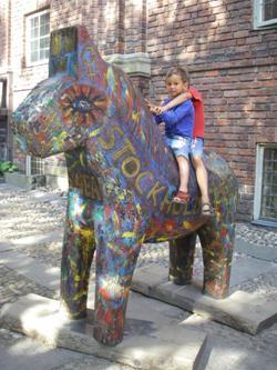 Ратуша лошадка