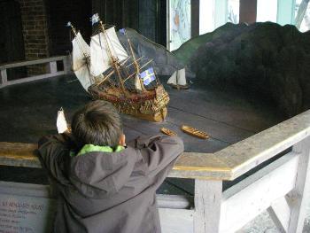 Стокгольм музей Васа макет корабля