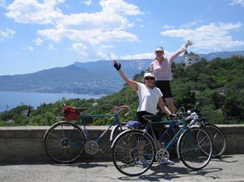 Путешествие на велосипеде в Крым