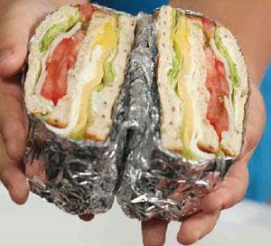 Сэндвичи с собой – для школы и для офиса