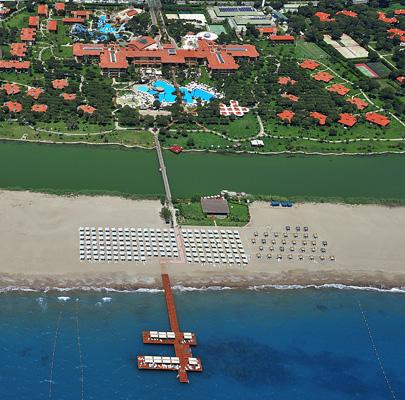 Территория отеля и пляж
