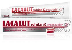 Отбеливание зубов в домашних условиях c LACALUT white & repair