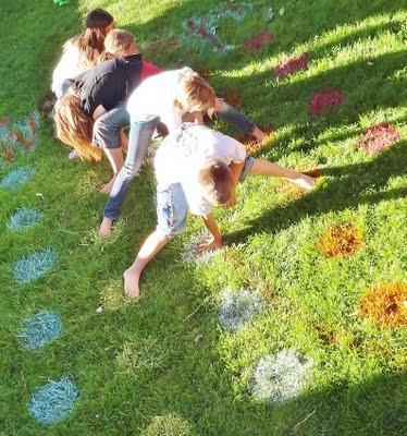 Летние игры для детей — на даче и на море