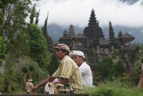 храм Пура Бесаких в центре Бали