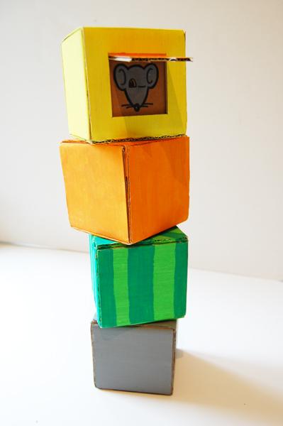 Кубики детские своими руками