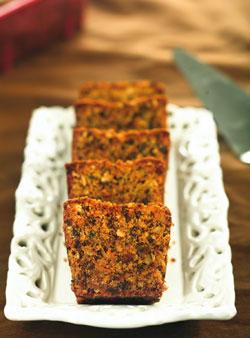 Кексы шоколадно-морковные с грецкими орехами