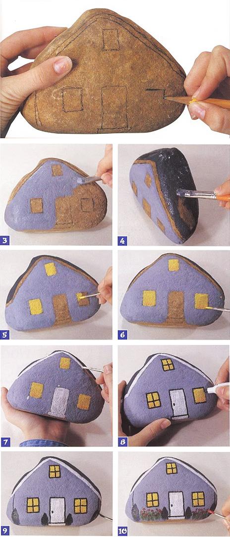 Камушки как раскраски для детей (и взрослых)