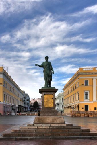 Путеводитель по Одессе: на Дерибасовской хорошая погода