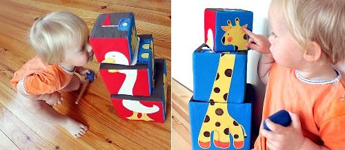 Мягкие кубики для малышей своими руками: мастер-класс