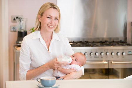 Детcкие молочные смеси: ребенок не теленок