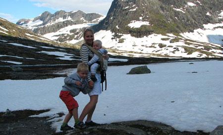Норвегия с ребенком: в гости к троллям на машине