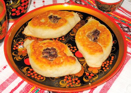 Пирожки из картофеля с грибами