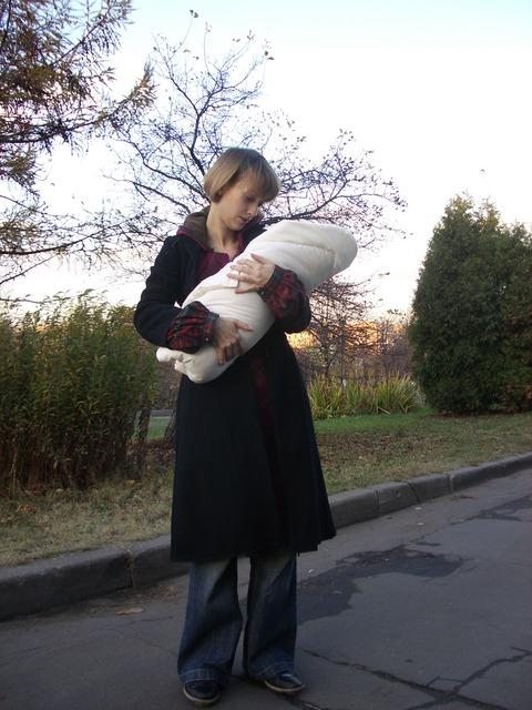 Актриса Анастасия Цветаева: Выписка из роддома