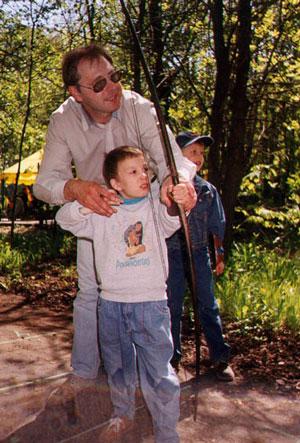 Рудов Алексей с детьми