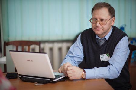 Рудов Алексей в работе