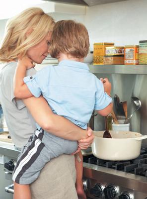 На кухне: готовим с малышами