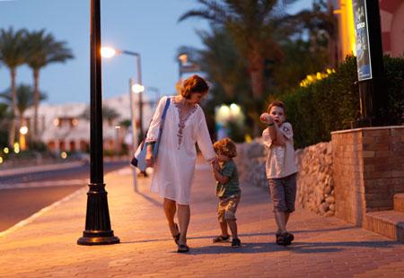 Ирина Чадеева с детьми