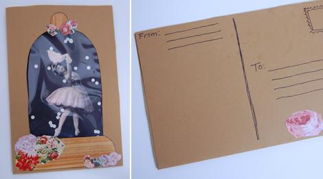 Новогодние открытки своими руками - мастер-класс