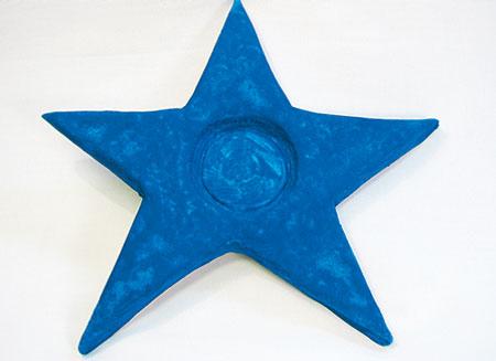 Покрасьте звезду краской