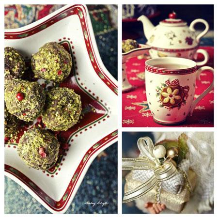 Шоколадные конфеты своими руками: трюфель с фисташками и перцем