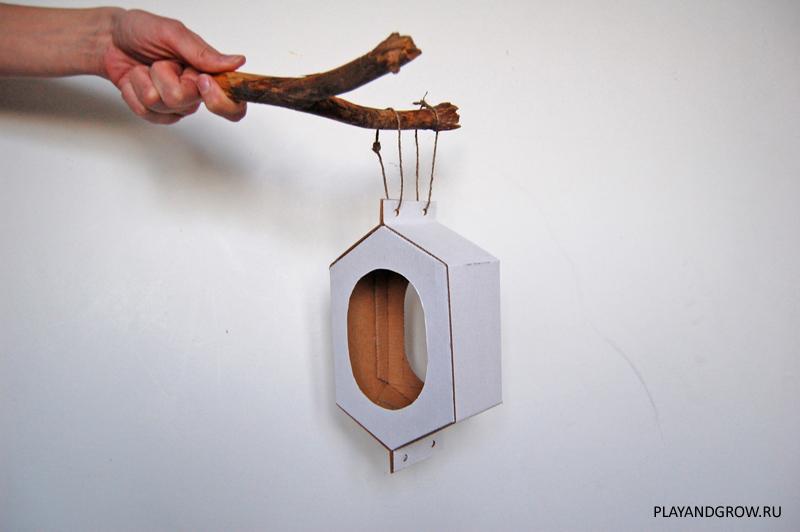 Необычная кормушка для птиц своими руками: чертеж и фото