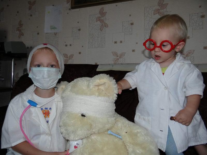 Мы уже не боимся врачей! Игротерапия в действии