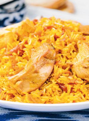 Правильный плов - три рецепта: с курицей, нутом и морепродуктами