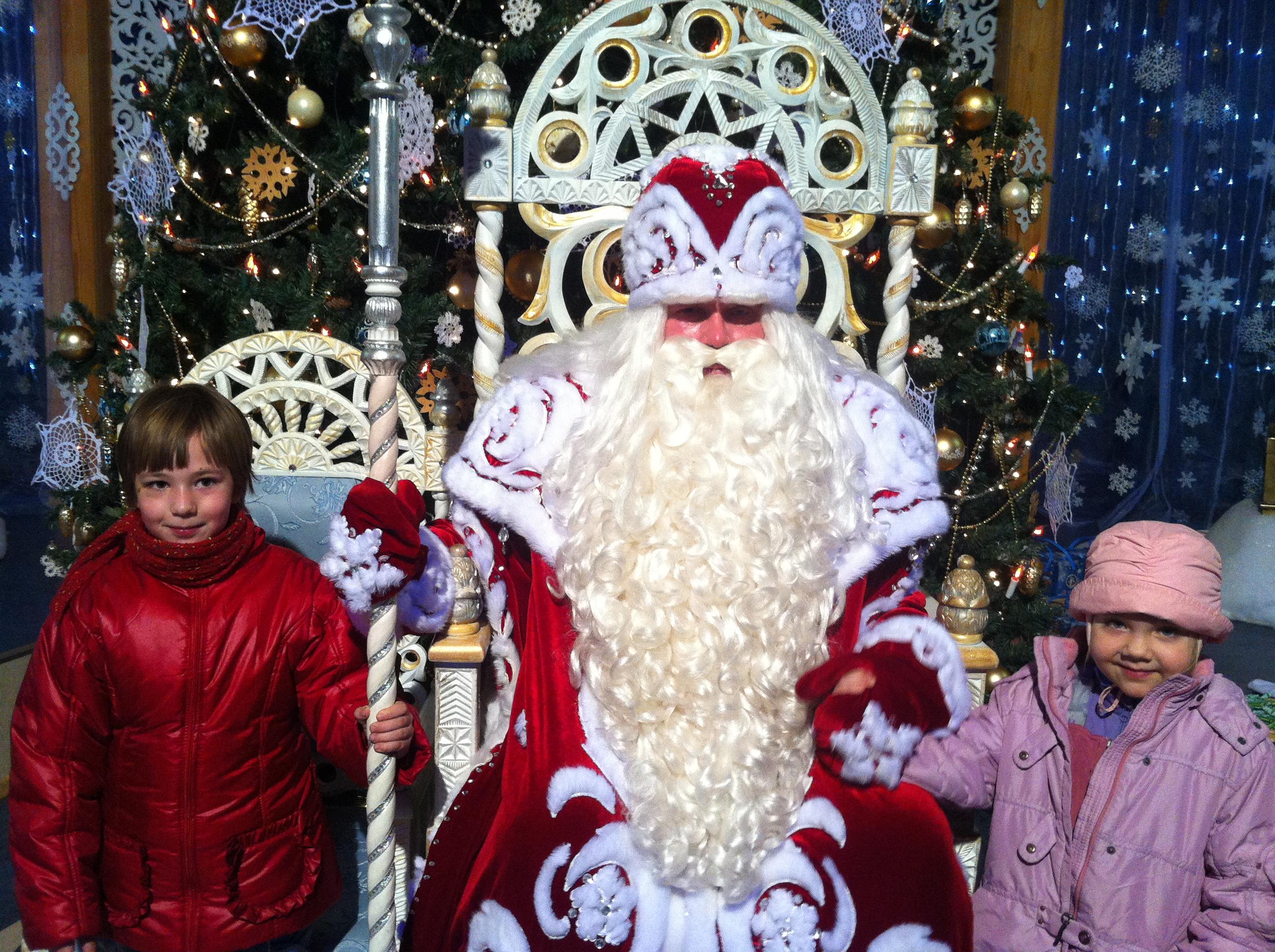 За новогодним настроением - в Великий Устюг к Деду Морозу