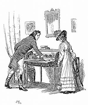 Как принимали гостей во времена Джейн Остин. Меню и обычаи. Часть 2