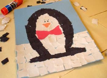 Зимняя поделка из бумаги своими руками - дети справятся сами!