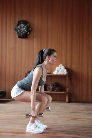 Упражнения для всех групп мышц: тренировка с фото. Весна на пороге!
