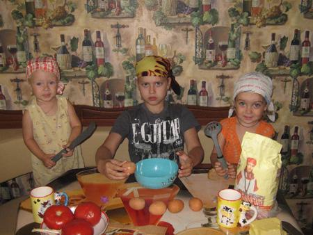 Готовим вместе: любимые рецепты многодетной семьи