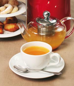 Чай с облепихой и грушей