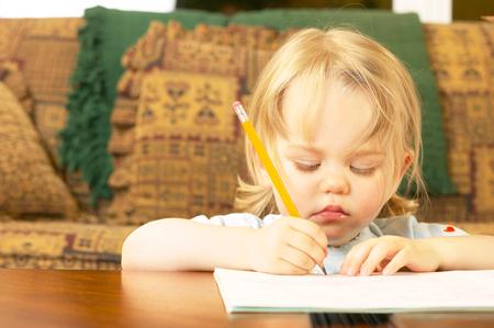 Рисование с малышом: первые