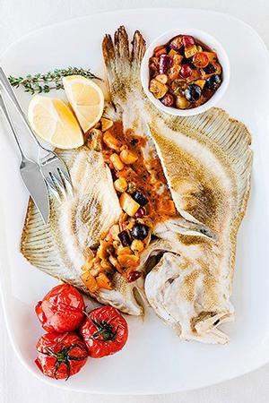 Лосось, сибас, тюрбо: 3 изысканных рецепта. Только рыба и овощи