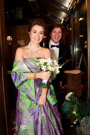 Телеведущая Ирина Муромцева с мужем