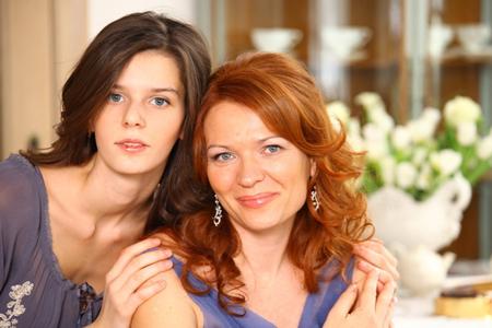 Алла Комиссарова с дочкой