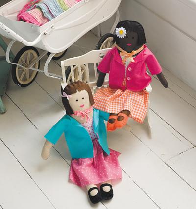 Одежда и обувь для кукол – своими руками. Поделки из лоскутков