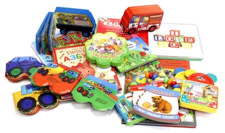 Книги для детей до 3 лет  развивающие и развлекающие. Обзор ... fa1c771274d