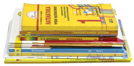 Комплект учебников и рабочих тетрадей для 1 класса