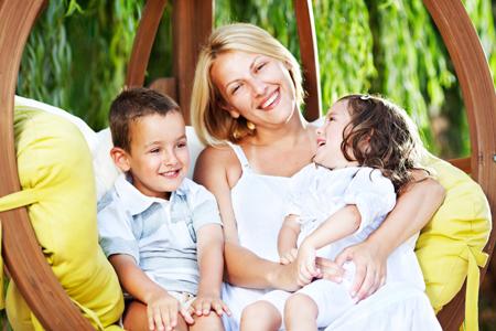 Воспитание детей по-американски: няня дороже мужа.